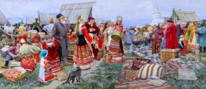 древняя ярмарка