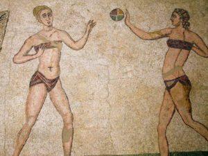 Древнегреческие купальники